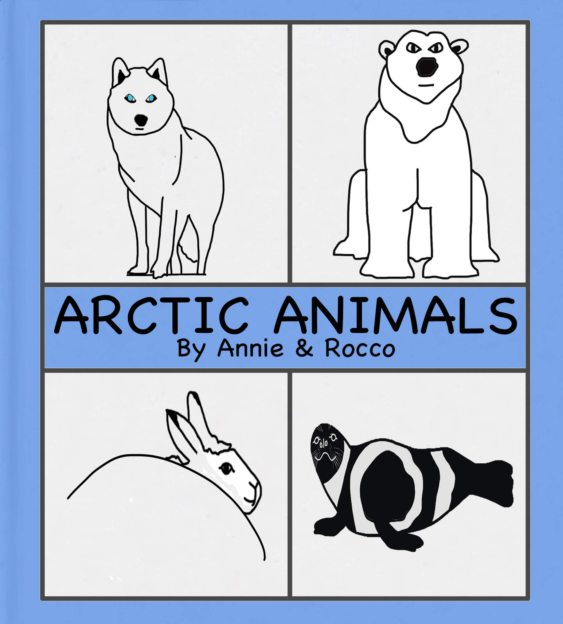 Cover Arctic Animals v4
